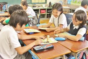 中央区立月島第一小学校2014年6月27日